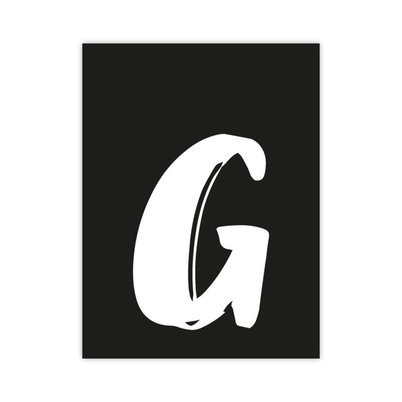 Letterslinger - letter G