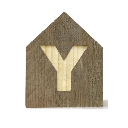Letterhuisjes - Huisje Y