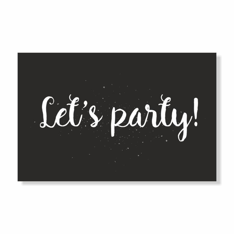 Kadokaart | Let's party!