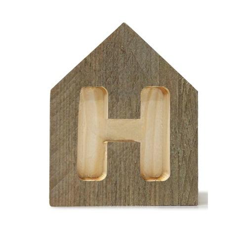 Letterhuisjes - Huisje H