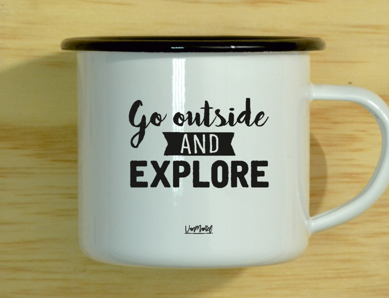 MOK (EMAILLE) - Go outside and explore