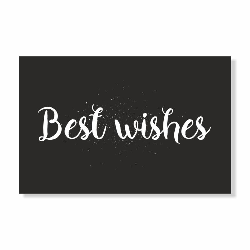 Kadokaart   Best wishes