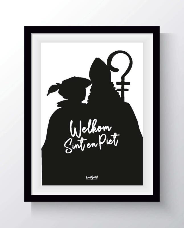 Welkom Sint en Piet (staf)