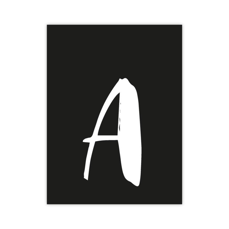 Letterslinger - letter A