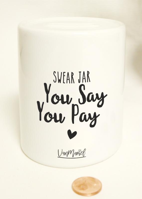 SPAARPOT - SWEAR JAR