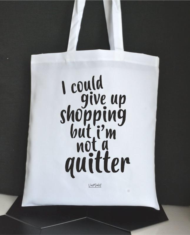 Tas 'i'm not a quitter'