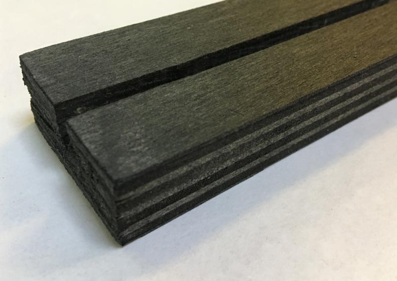 Kaartenhouder (zwart) - 21 cm