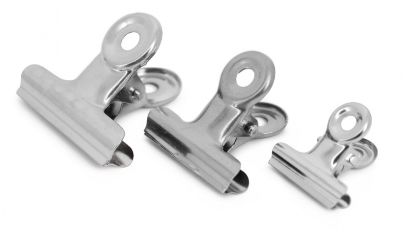Office clips silver | 4 cm