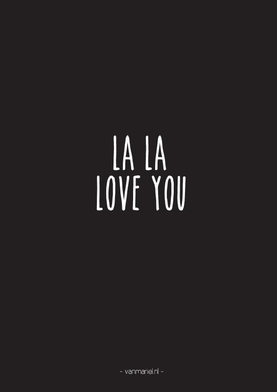 A6   La La Love you