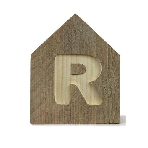 Letterhuisjes - Huisje R