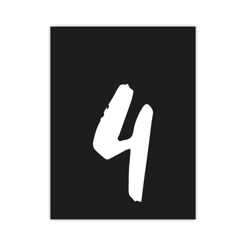 Letterslinger - cijfer 4