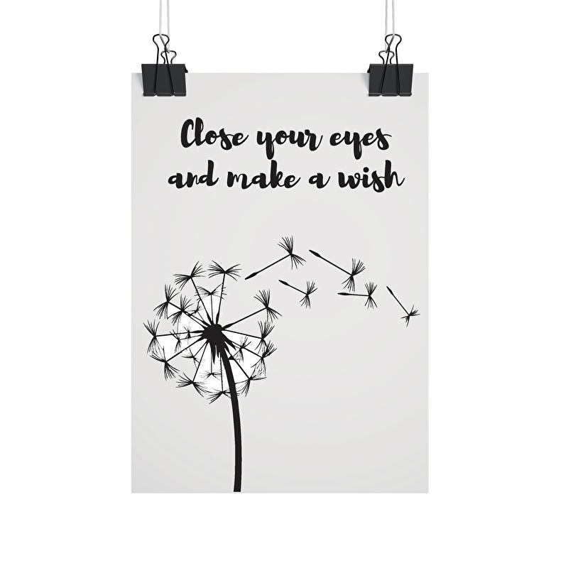 A4 | Close your eyes and make a wish