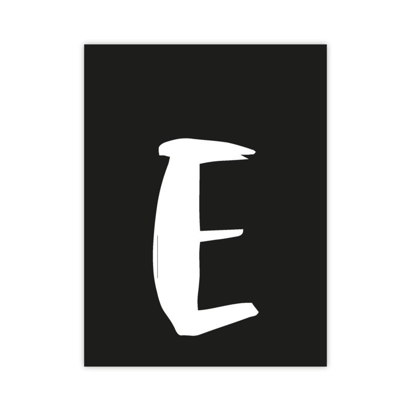 Letterslinger - letter E