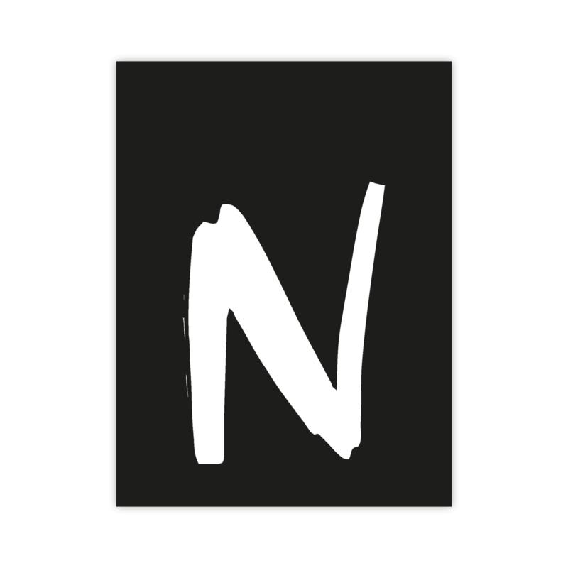 Letterslinger - letter N