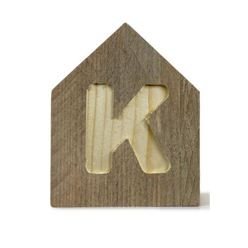 Letterhuisjes - Huisje K