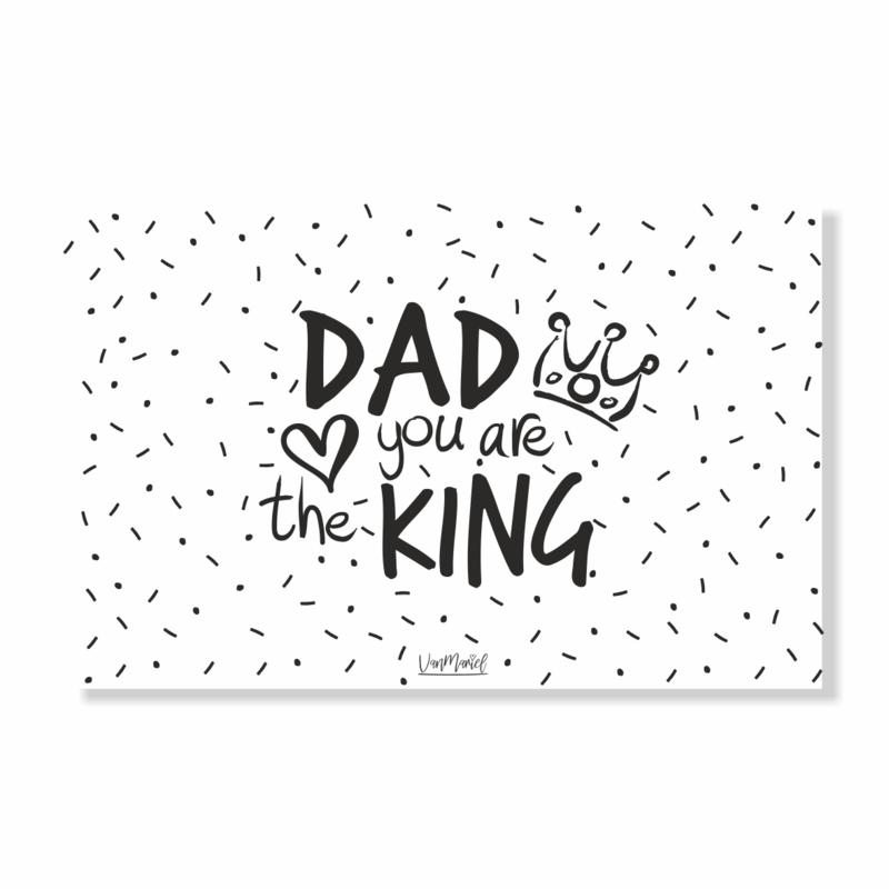 Kadokaart | Dad you are the king