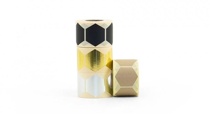 Sluitzegel hexagon | 43 mm (zilver)