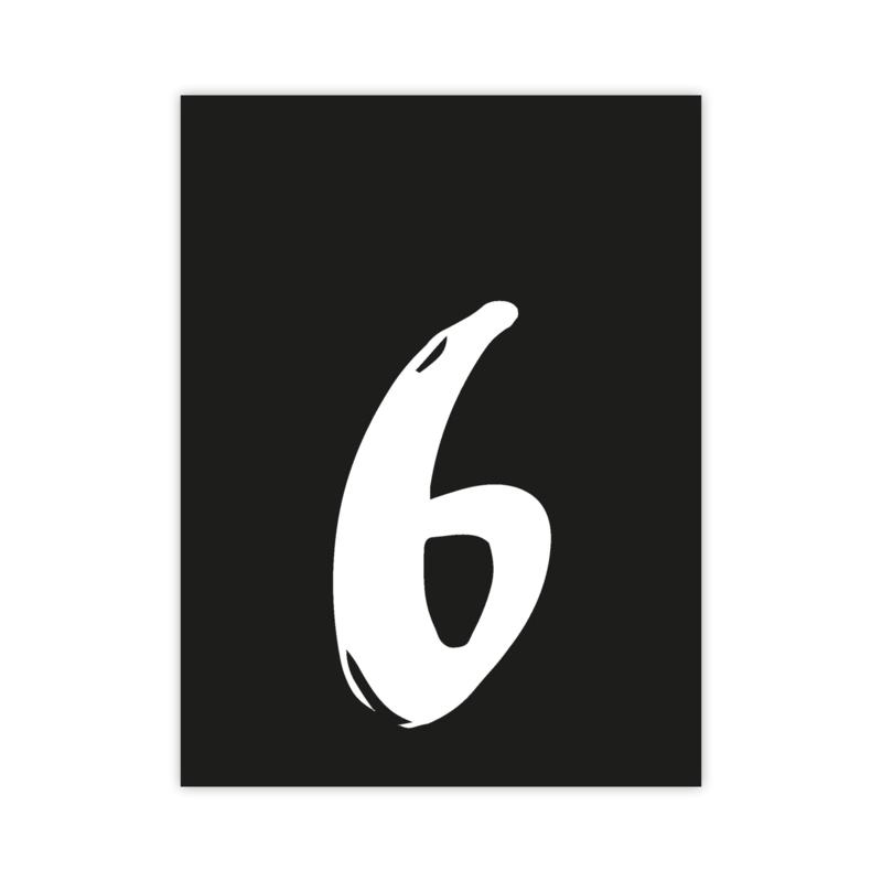 Letterslinger - cijfer 6