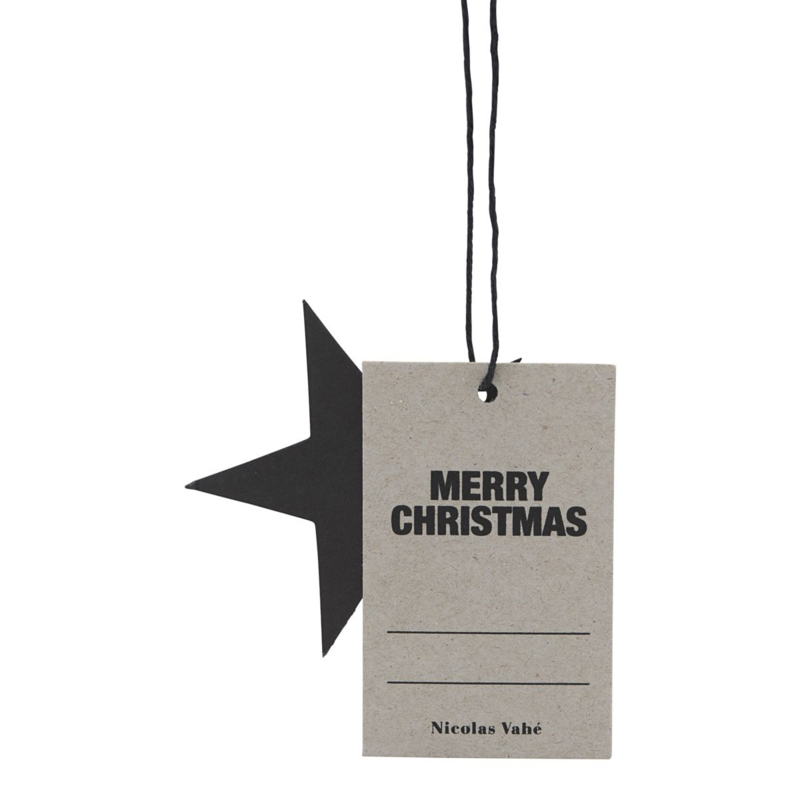 Nicolas vahé - Kerst gift tag