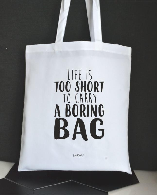 Tas 'Boring bag '
