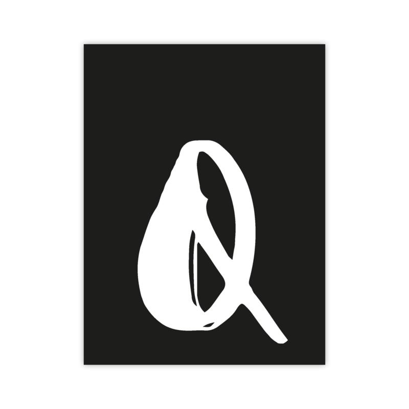 Letterslinger - letter Q