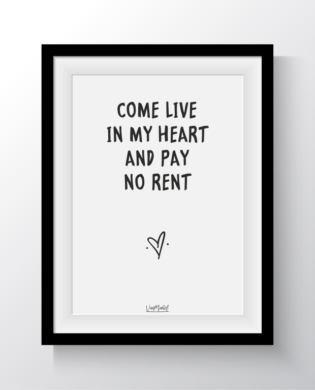 Come live in my heart