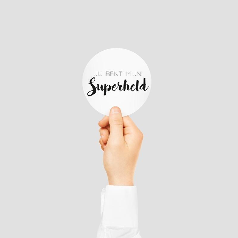 Jij bent mijn superheld | 30mm