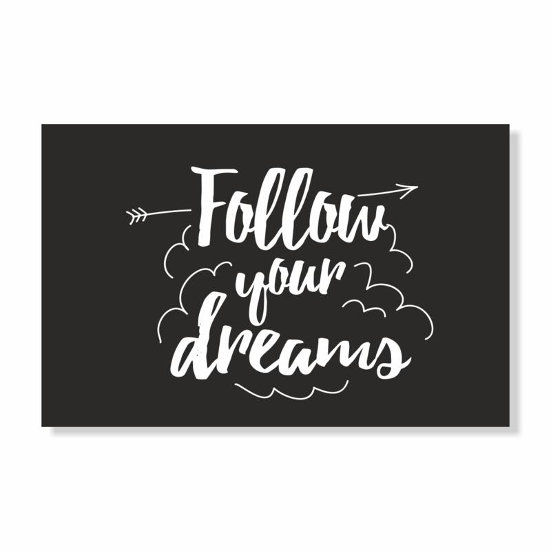 Kadokaart | Follow your dreams