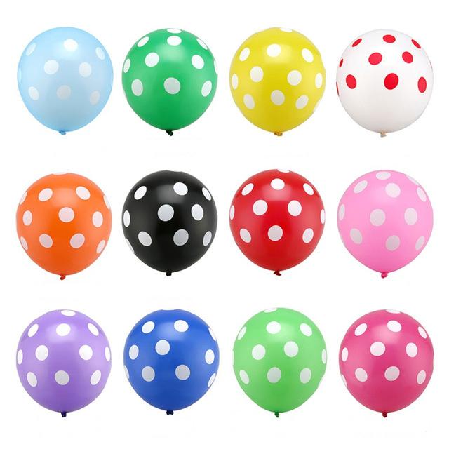 Ballon Oranje dots