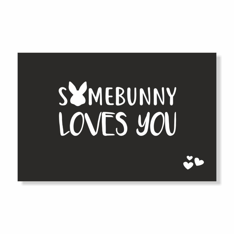 Kadokaart | Somebunny loves you