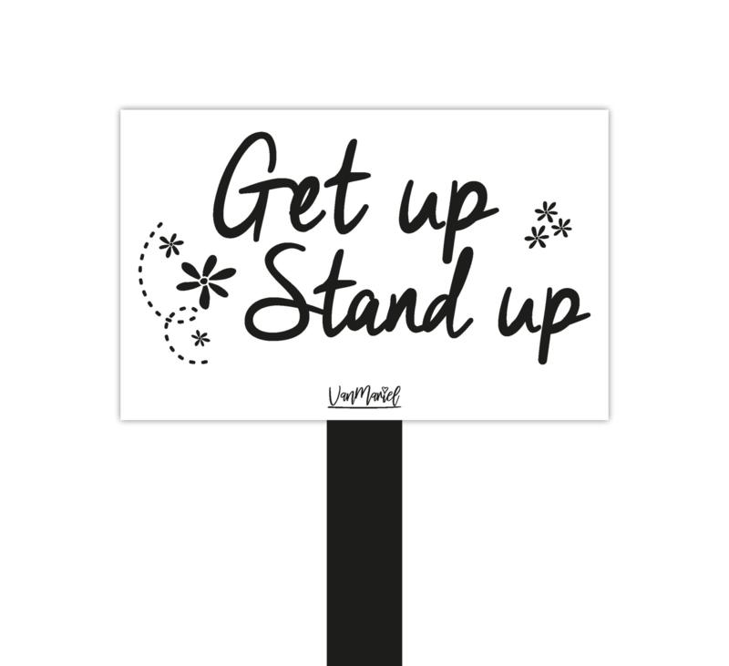 Plantensteker   Get up stand up