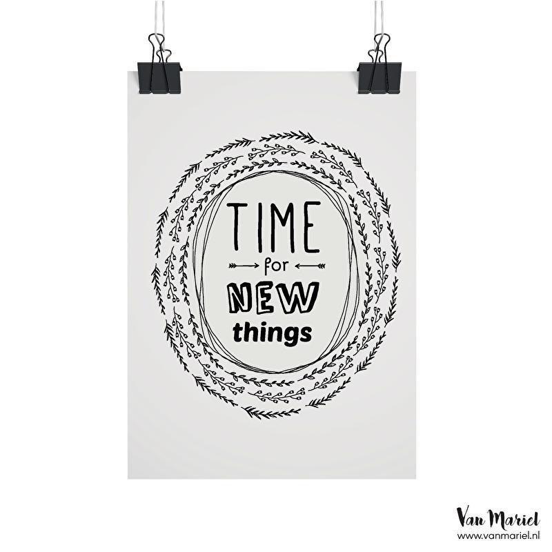 A6 | Time for new things