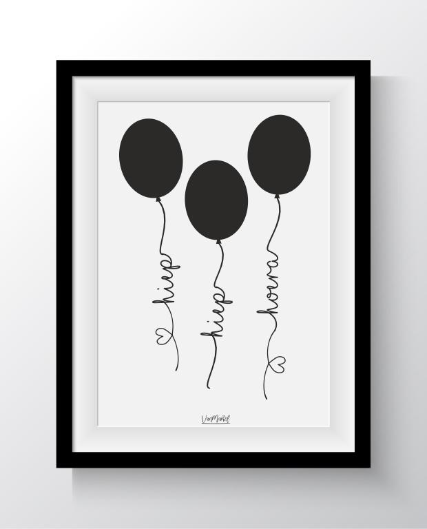 Hoera Ballon