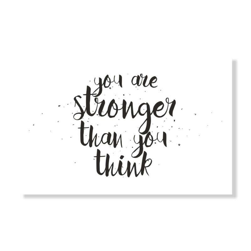 Kadokaart | You are stronger than you think