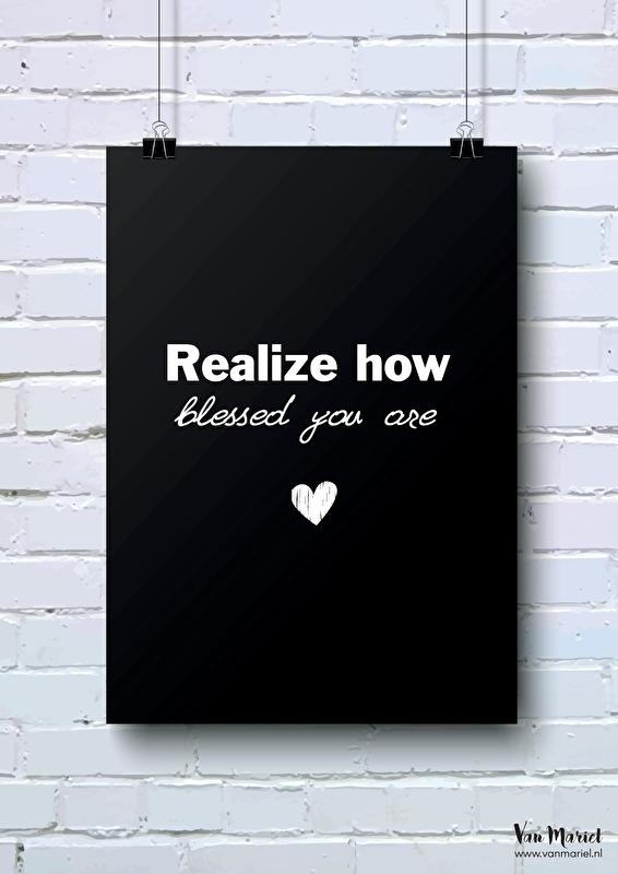 A6 | Realize how blessed you are
