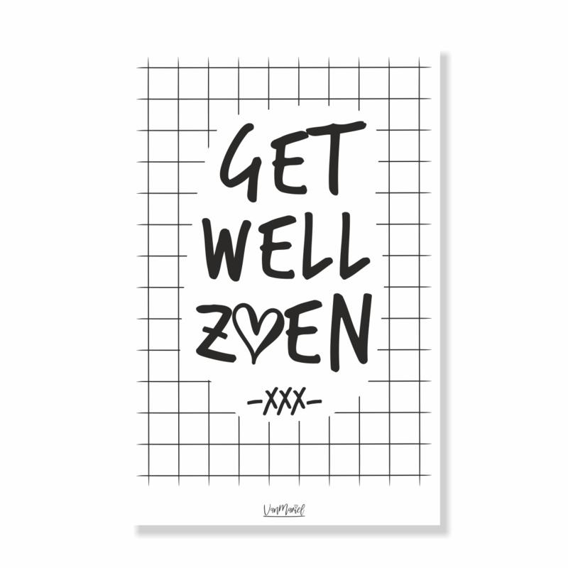 Kadokaart | Get Well Zoen