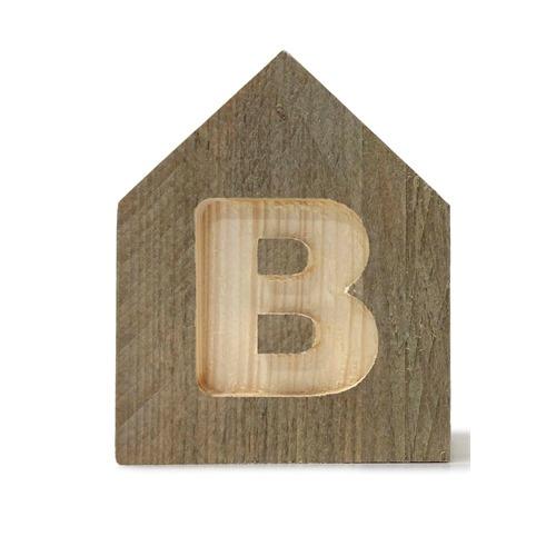 Letterhuisjes - Huisje B