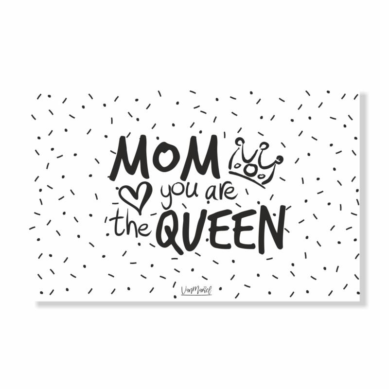Kadokaart | Mom you are the queen