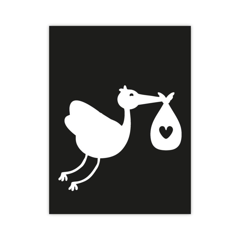 Letterslinger - symbool geboorte