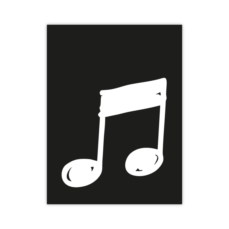 Letterslinger - symbool muziek