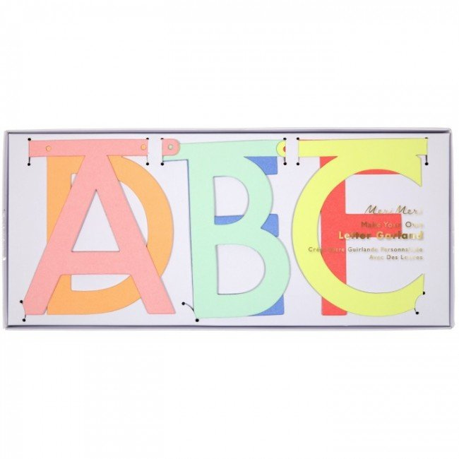 """Word banner """"multi color"""""""