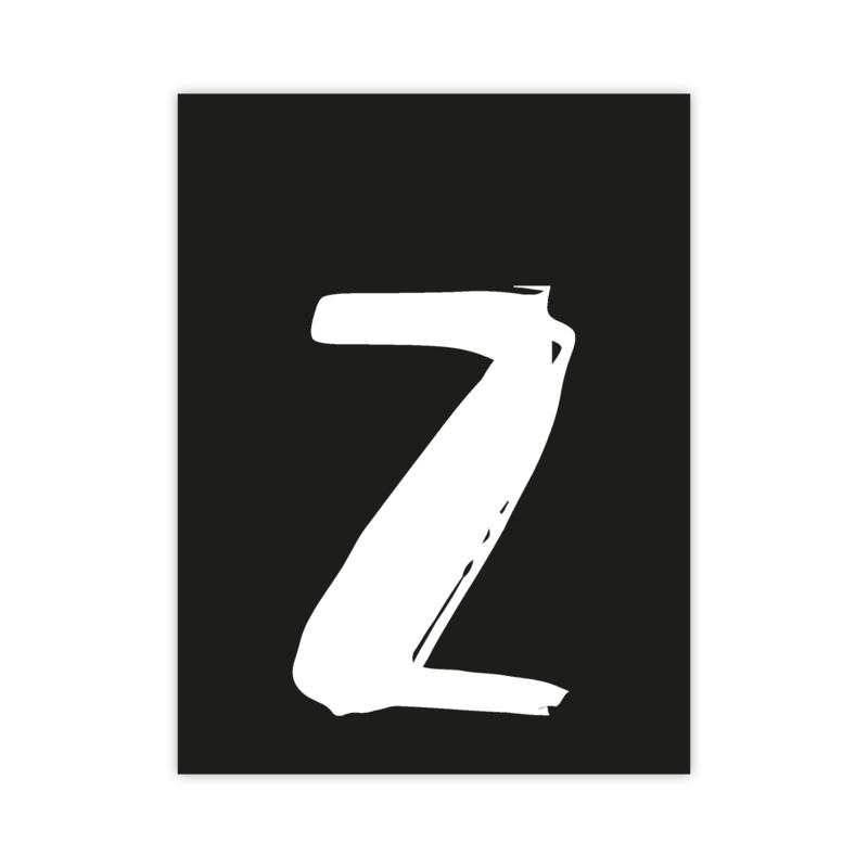 Letterslinger - letter Z