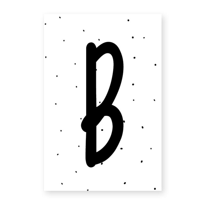 Naamslinger letter B
