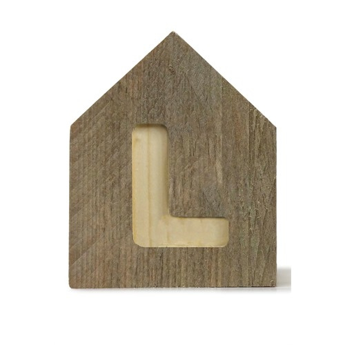 Letterhuisjes - Huisje L