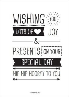 A6 | Hip hip hooray to you