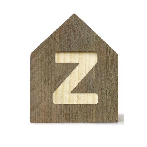 Letterhuisjes - Huisje Z