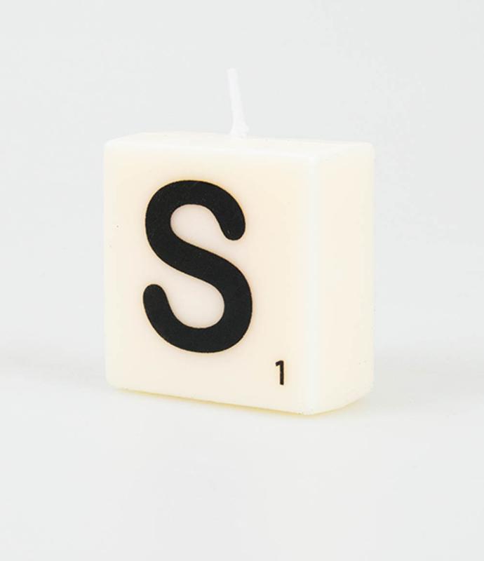 Letterkaars - S