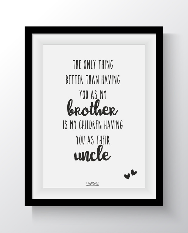 A6 - Better than having you as my brother