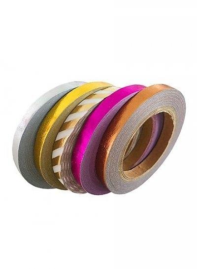 Masking tape set foil mix small