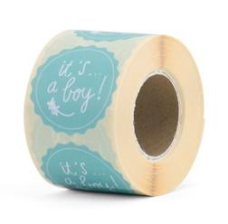It's a boy! | 40 mm (mint groen)